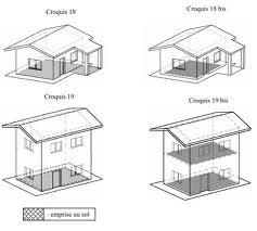 emprise au sol. Black Bedroom Furniture Sets. Home Design Ideas